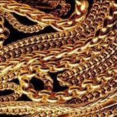 Золотые замочки для «серой» цепочки