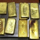 10 золотых слитков обнаружили таможенники в обуви выезжающей в Китай россиянки